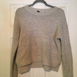 Light grey brandy Melville sweater